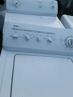 Washer and dryer 4 months warranty for Sale in Alexandria, VA