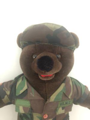 Camo Military Teddy Bear - new for Sale in Glendale, AZ