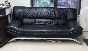 Leather sofa for Sale in Fairfax, VA