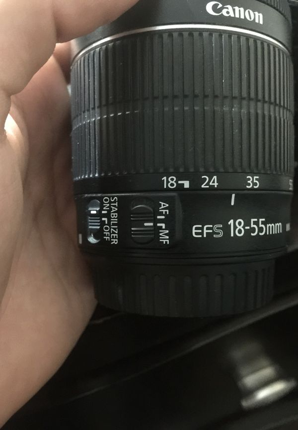 Canon Camera Kit w/ 2 lenses