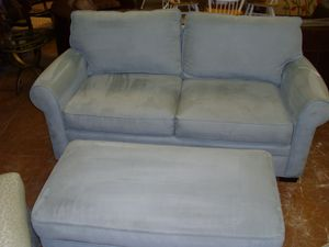 couch and ottoman for Sale in Fort Lauderdale, FL