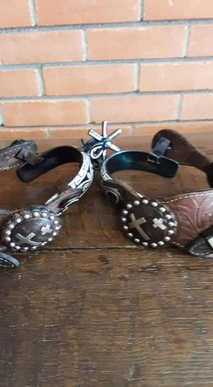 Hand made Mexican spurs 125$ for Sale in Louise, TX