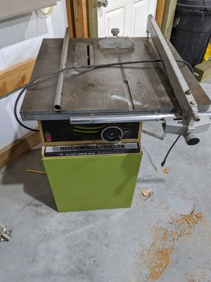 Rockwell/Delta table saw for Sale in West Richland, WA