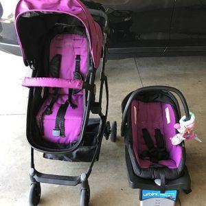 Stroller urbini and car seat for Sale in Riverside, CA