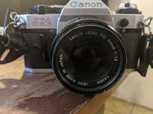 Canon AE1 Program 35 mm Film Camera for Sale in Woodlyn, PA