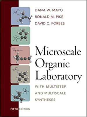 Microscale Organic Laboratory (Mayo, Pike and Forbes) (5th Ed) for Sale in Lexington, KY