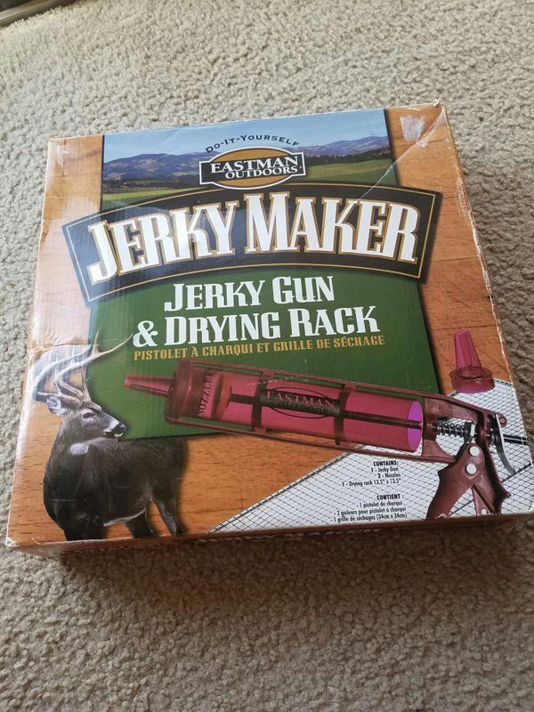 JERKY MARCKER GUN & DRYING RACK