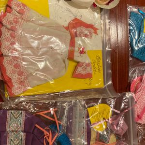 Handmade Barbie Cloths and Barbie Doll for Sale in Chehalis, WA