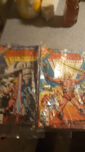 Master of universe early 80s comics for Sale in Mount Carmel, IL