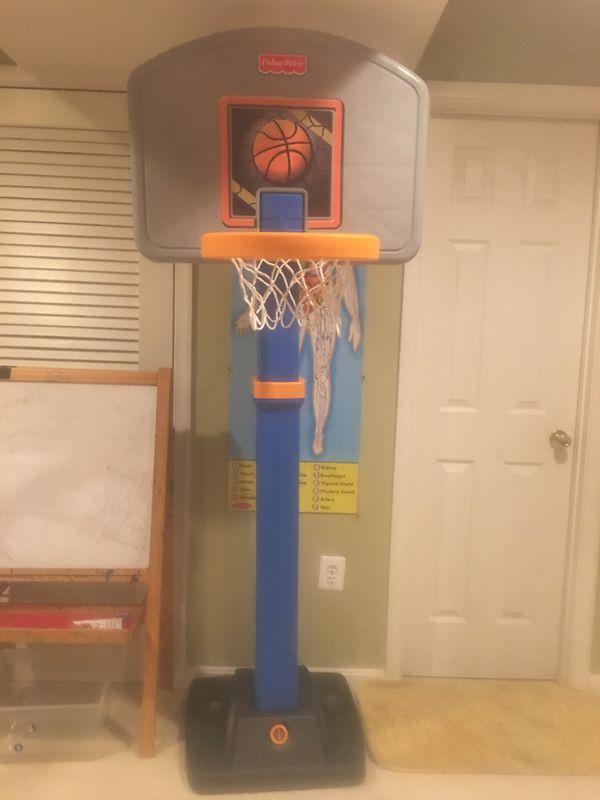 Kids basketball 🏀 standing hoop