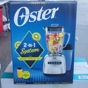 Oster 2-in-1 Blender $35 for Sale in Moreno Valley, CA