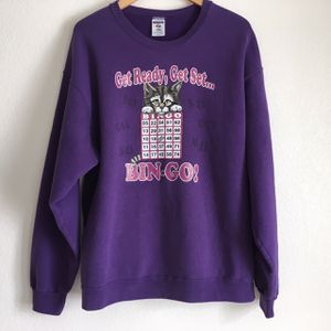 Vintage Jerzees Bingo Cat Sweatshirt for Sale in Las Vegas, NV