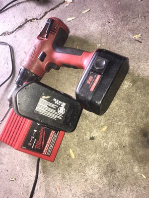 Milwaukee drill and charger for Sale in Lackawanna, NY