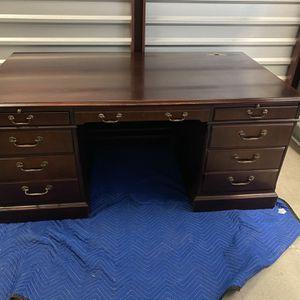 Alma Desk Company Executive Desk for Sale in San Juan Capistrano, CA