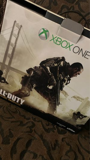 Xbox One 1 TB Call of Duty Advanced Warfare Edition for Sale in Silver Spring, MD