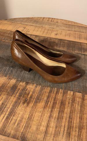 Frye leather heels size 10 for Sale in Atlanta, GA