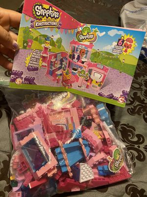 Shopkins. Play set legos for Sale in Raleigh, NC