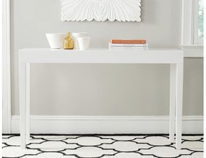 Safavieh white console table for Sale in Delray Beach, FL