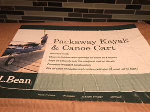 New in Box Packaway Kayak and Canoe Cart for Sale in Burlington, MA