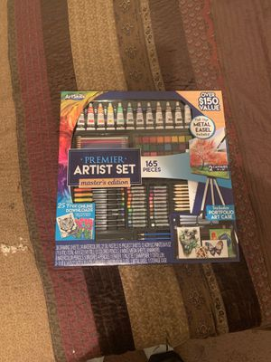 Art skills paint set for Sale in Chesapeake, VA