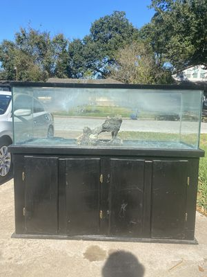 100 Gallon Fish tank w/ Decoration for Sale in Houston, TX