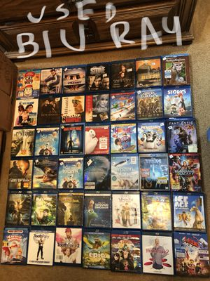 Blu Rays - Individual or ALL- New & Used- GREAT GIFT TOO for Sale in Emmaus, PA