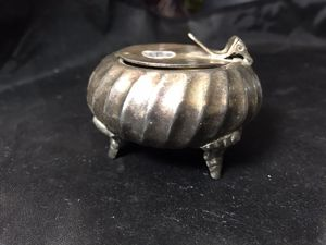 Very Rare, Vintage Silver Footed Personal Ashtray for Sale in Coolidge, AZ