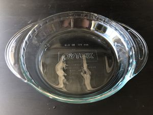 Pyrex glass pie baking plate for Sale in San Mateo, CA
