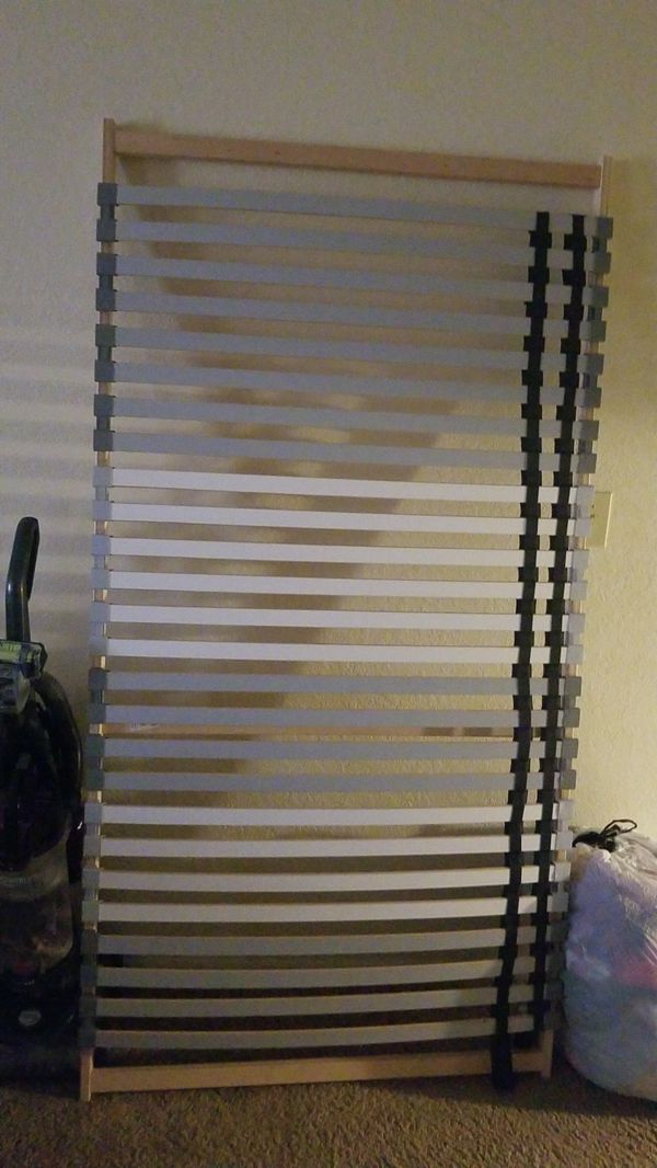 Ikea L 214 Nset Twin Slats Fjellse Bed Frame For Sale In Saint