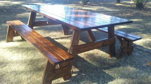 Indoor outdoor furniture more on Facebook at Bomottis Woodworks for Sale in Clackamas, OR