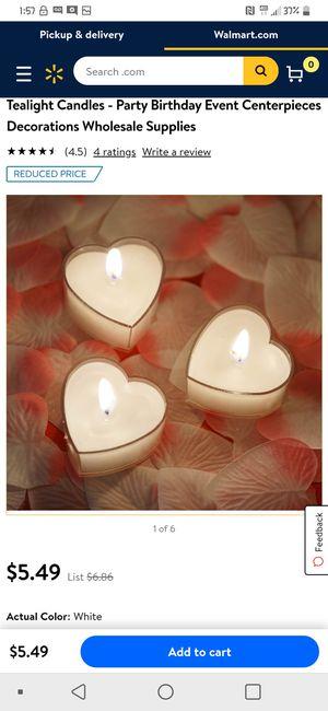 Heart candles for Sale in Phoenix, AZ