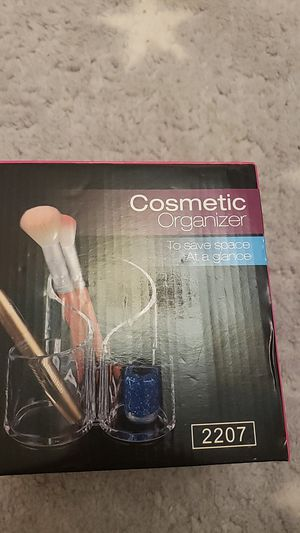 Clear cosmetic organizer for Sale in Ontario, CA