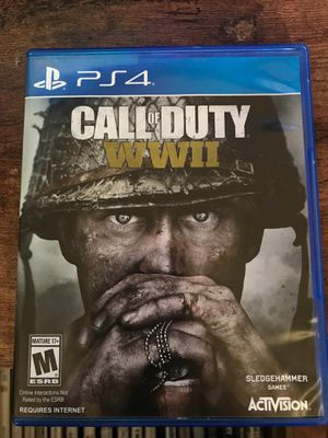 PS4 Call Of Duty WW2 for Sale in HILLTOP MALL, CA