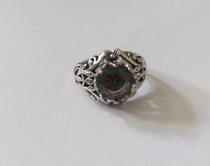 Sterling Silver Rainbow Topaz Flower ring for Sale in Arvada, CO