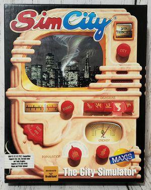 SimCity The City Simulator Sim City Big Box PC Maxis 1991 - Complete EXCELLENT for Sale in Harrisonburg, VA