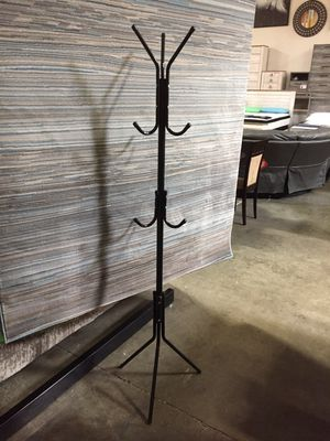 Black Metal Coat Rack, 3335 for Sale in Santa Fe Springs, CA