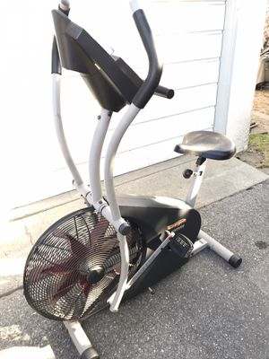ProForm stationary bike elliptical exercise machine fan bicycle fitness crossfit trainer cycle for Sale in Monrovia, CA