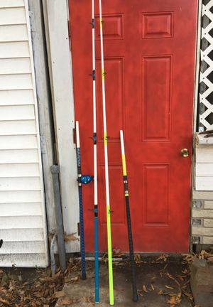 Fishing rods and a avet mc cast reel for Sale in Norfolk, VA