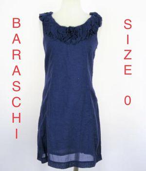 BARASCHI, Blue Ruched Neck Dress, Size 0 for Sale in Phoenix, AZ