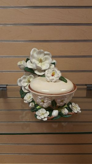 Cookie Jar / Storage Container, etc... ( NEW ) magnolia for Sale in Murray, UT