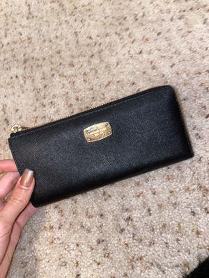 Michael Kors Black Wallet for Sale in Woodstock, GA