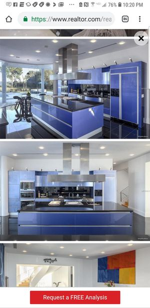 Kitchen cabinets high end for Sale in Tampa, FL