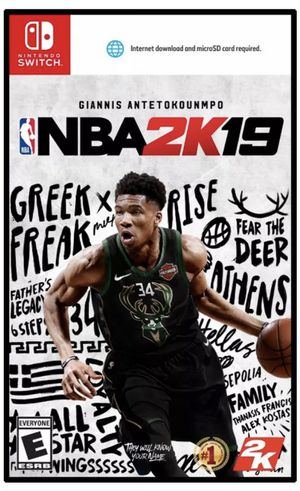 NBA 2K19 Nintendo Switch for Sale in Miami, FL
