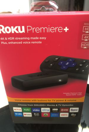Roku premiere plus brand new for Sale in Raleigh, NC