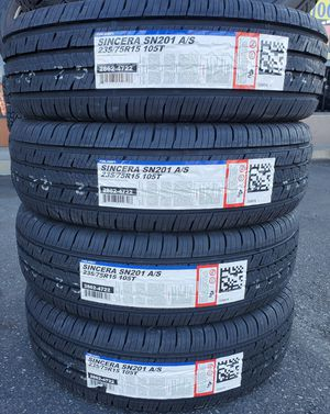 235 75 15 FALKEN SINCERA TIRES for Sale in Rancho Cucamonga, CA
