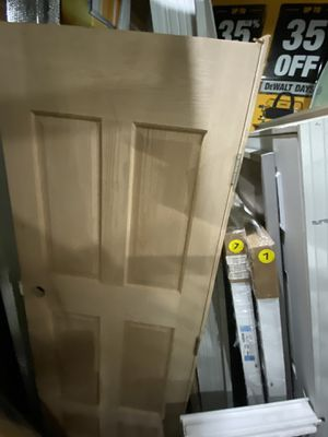 Interior oak solid door for Sale in Lancaster, OH