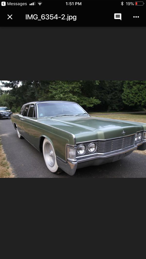 1968 Lincoln Continental | Suicide Slab, Classic Car, Old ...