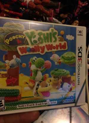 Yoshis woolly world Nintendo 3ds brand new for Sale in East Los Angeles, CA