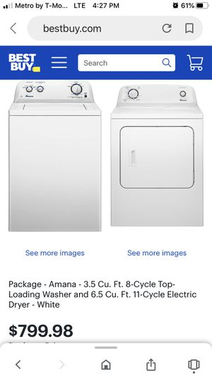 Washer and Dryer Set for Sale in Providence, RI