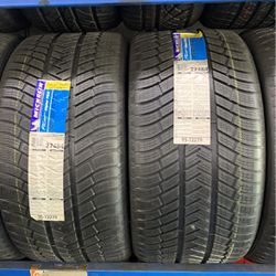 New Pair Of 285/40-19 Michelin Pilot Alpin Tires for Sale in Los Angeles,  CA